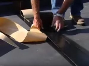 EPDM Seam Install VA Flat Roofers Chesapeake